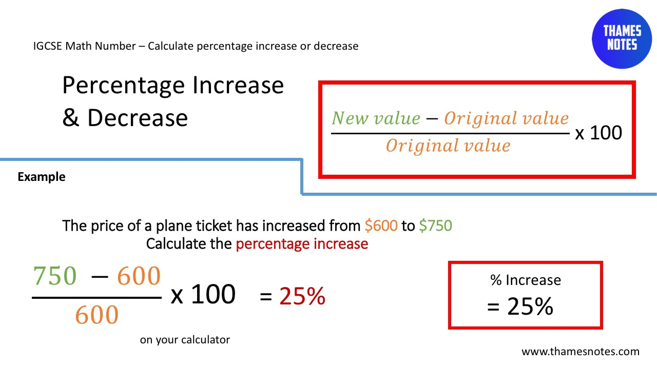 how to work out salary increase percentage